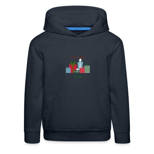 Le plus beau cadeau - Pull à capuche Premium Enfant