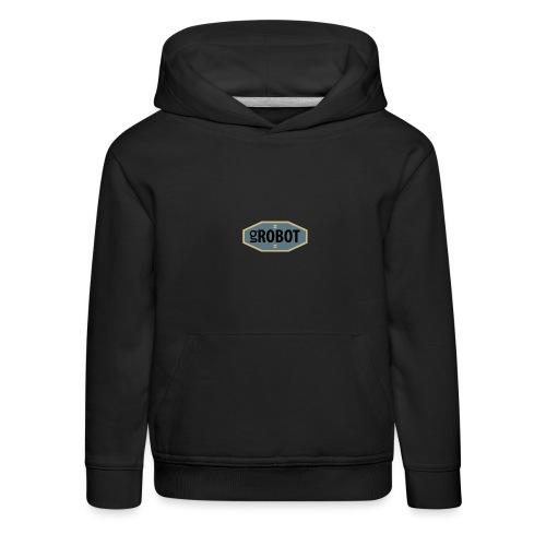gRobot Logo - Felpa con cappuccio Premium per bambini