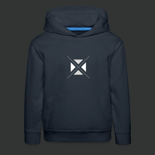 hipster triangles - Kids' Premium Hoodie
