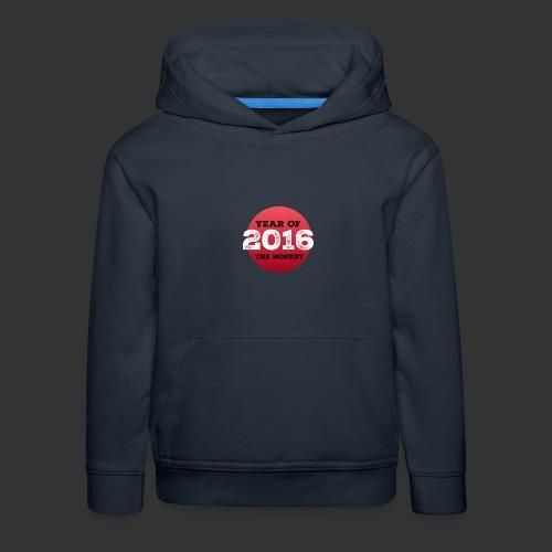 2016 year of the monkey - Kids' Premium Hoodie