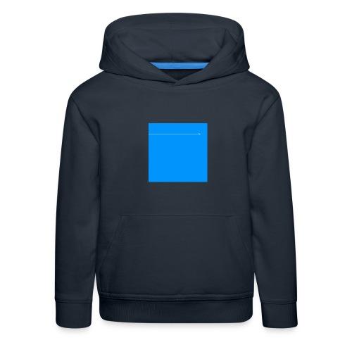 sklyline blue version - Pull à capuche Premium Enfant