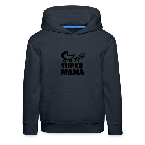 supermama - Kinder Premium Hoodie