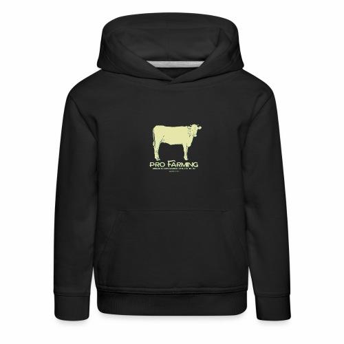PRO Farming - Felpa con cappuccio Premium per bambini