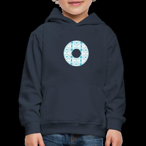 Hippie flowers donut - Kids' Premium Hoodie