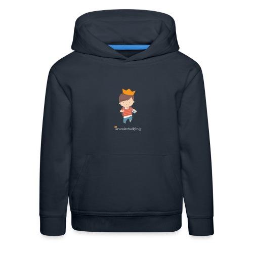 Grundschulkönig - Kinder Premium Hoodie