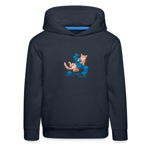 Cozy Cat - Kinder Premium Hoodie