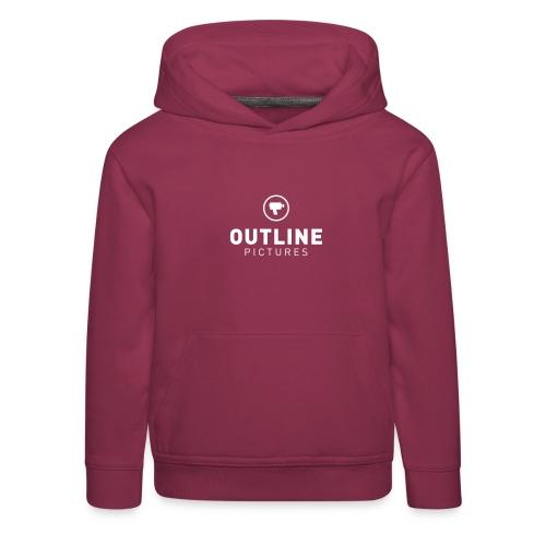 OutlinePictures logo2007 NEG - Kinder Premium Hoodie