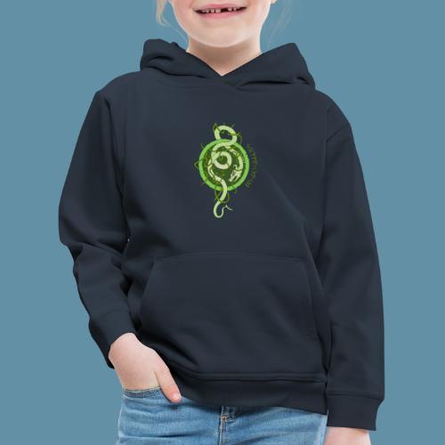 Jormungand logo png - Felpa con cappuccio Premium per bambini