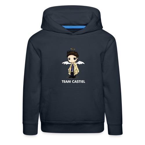 Team Castiel (dark) - Kids' Premium Hoodie