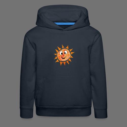 Słońce - Bluza dziecięca z kapturem Premium