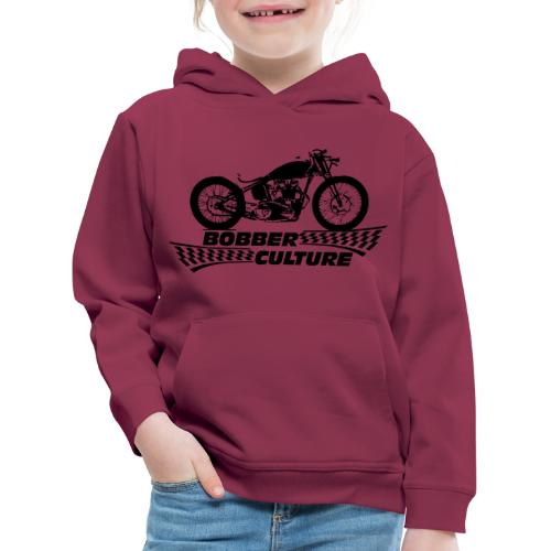 Bobber Culture - Sudadera con capucha premium niño