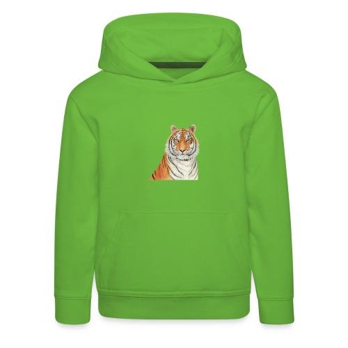 Tigre,Tiger,Wildlife,Natura,Felino - Felpa con cappuccio Premium per bambini