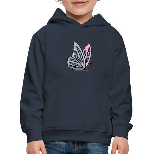 Fjäril - Premium-Luvtröja barn