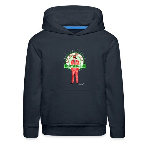 Bonjour ma belle New York, Francisco Evans ™ - Kinder Premium Hoodie