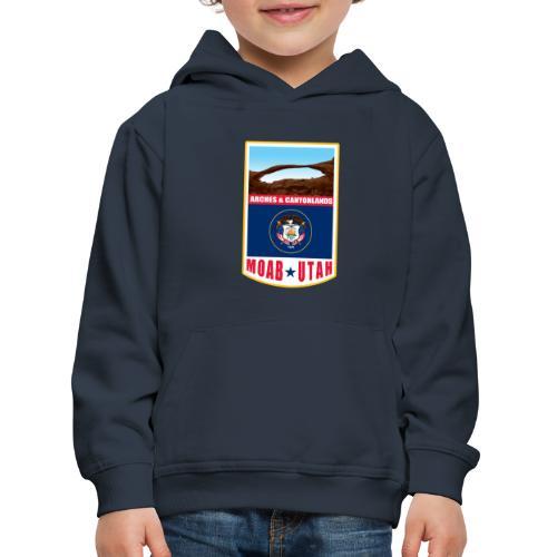 Utah - Moab, Arches & Canyonlands - Kids' Premium Hoodie
