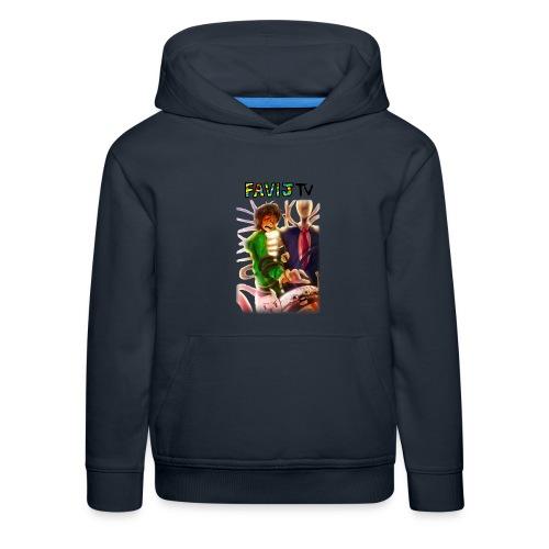 ShirtFinale png - Felpa con cappuccio Premium per bambini
