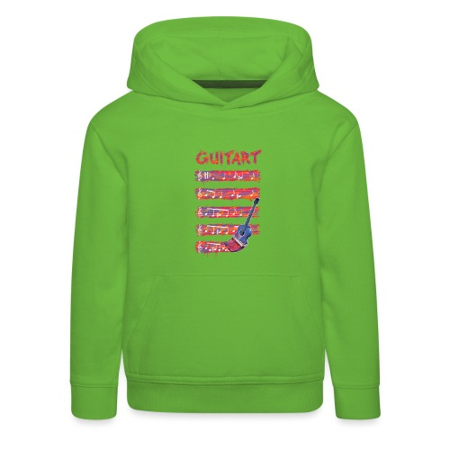 GuitArt - Kids' Premium Hoodie