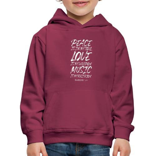 Djecko 001 - Pull à capuche Premium Enfant