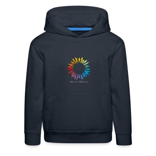 Skolen Bifrost - Premium hættetrøje til børn