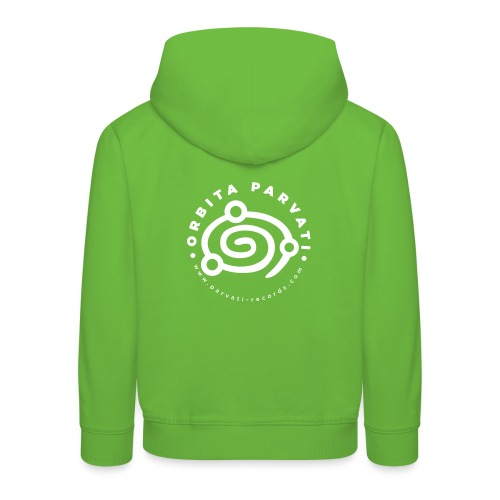 Orbita Parvati white logo - Kids' Premium Hoodie