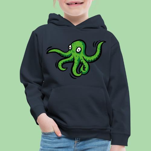 Alien Oktopus - Kinder Premium Hoodie
