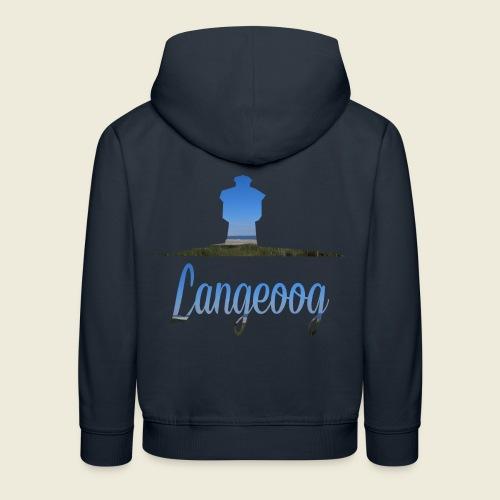 Langeoog Wasserturm Urlaub Meer - Kinder Premium Hoodie