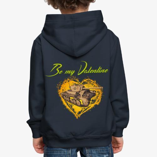 Glowing Valentine Heart - Kinder Premium Hoodie