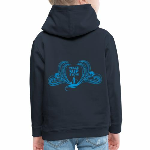 Peace SUP and love 8 - Pull à capuche Premium Enfant