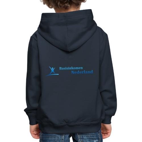 Logo Basisinkomen Nederland 2 - Kinderen trui Premium met capuchon
