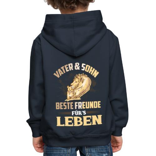 Vater und Sohn Beste Freunde fürs Leben - Kinder Premium Hoodie