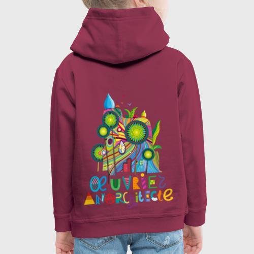 Anarchitecte - Pull à capuche Premium Enfant