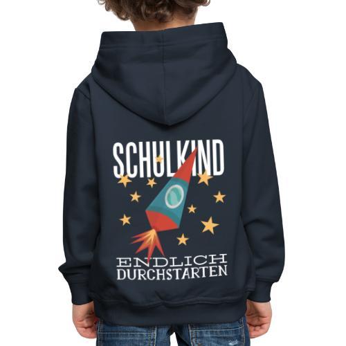 Schulkind Endlich Durchstarten - Kinder Premium Hoodie