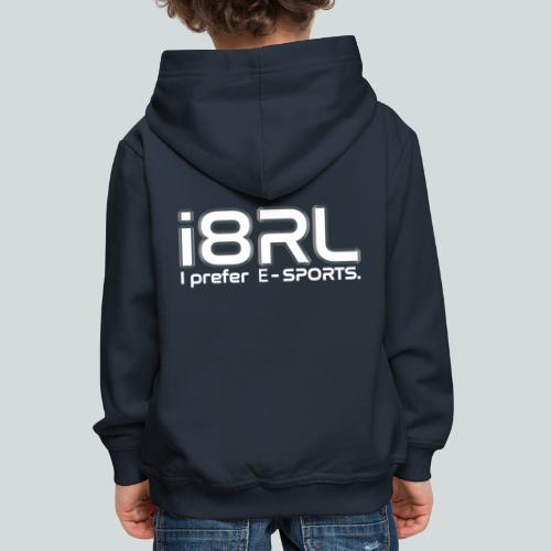 i8RL - I prefer e-sports - Pull à capuche Premium Enfant