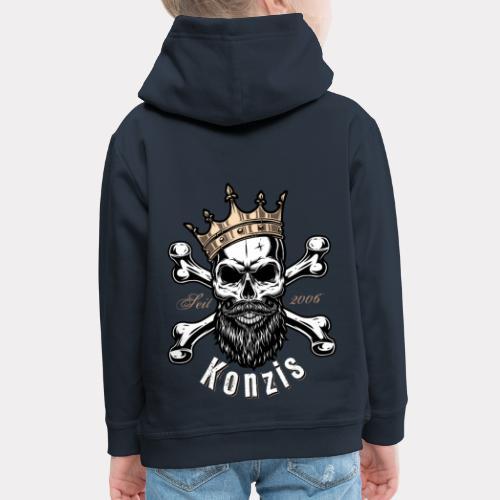Skull Bones Logo - Kinder Premium Hoodie