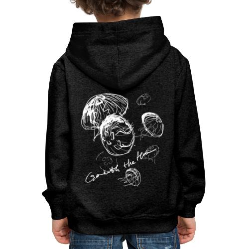 Go with the flow - Kids' Premium Hoodie