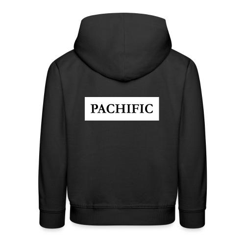Original Be Pachific print black on white - Kinder Premium Hoodie