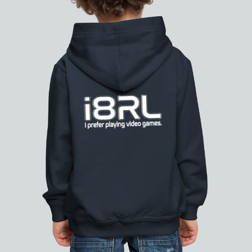i8RL - I prefer playing video games. - Pull à capuche Premium Enfant
