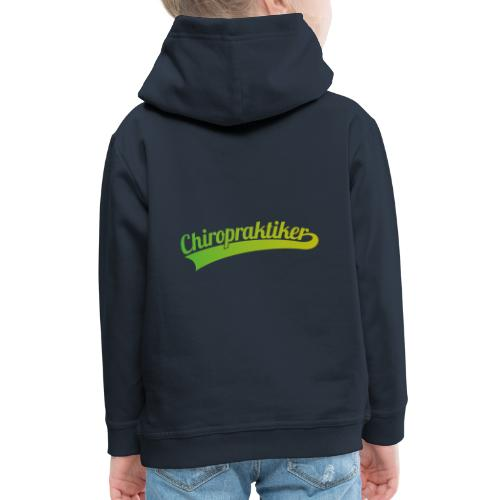 Chiropraktiker (DR12) - Kinder Premium Hoodie