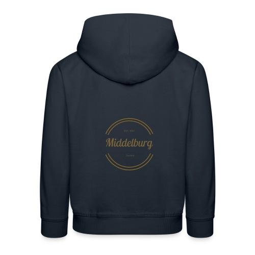 Middelburg 1217 - Kinderen trui Premium met capuchon