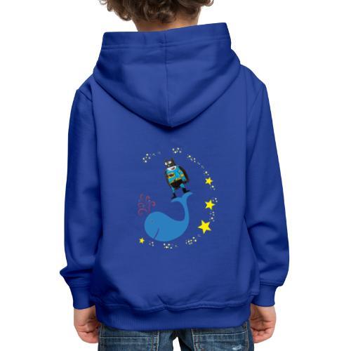 Super baleine - Pull à capuche Premium Enfant