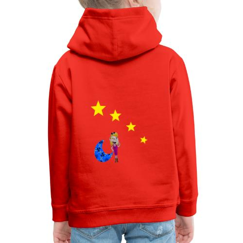 Rêveuse - Pull à capuche Premium Enfant