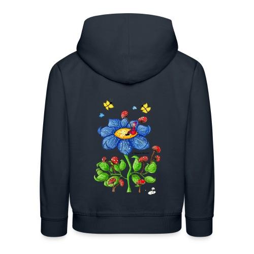 Blumenkind - Kinder Premium Hoodie
