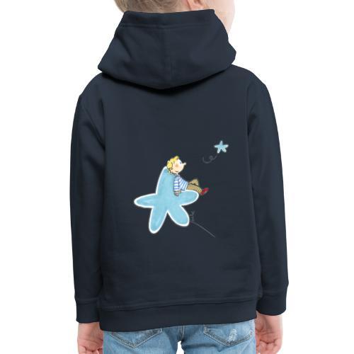 048 Enfant étoile - Pull à capuche Premium Enfant