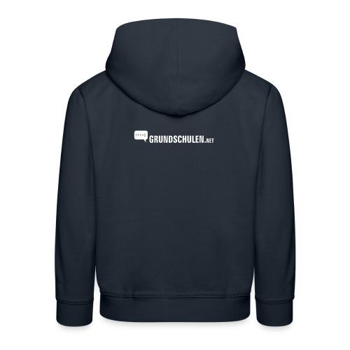 logo weiss png - Kinder Premium Hoodie