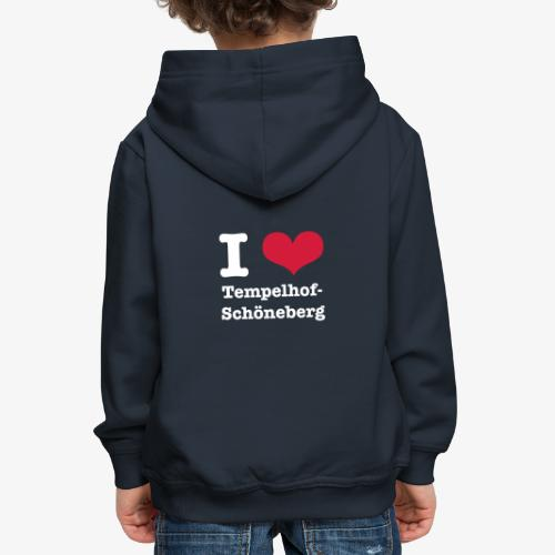 I love Tempelhof-Schöneberg - Kinder Premium Hoodie
