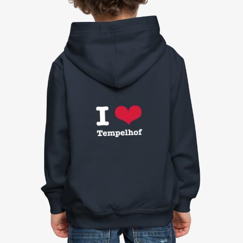 I love Tempelhof - Kinder Premium Hoodie
