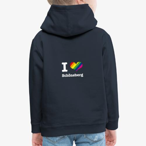 I love Schöneberg Rainbow - Kinder Premium Hoodie