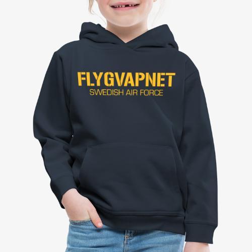 FLYGVAPNET - SWEDISH AIR FORCE - Premium-Luvtröja barn