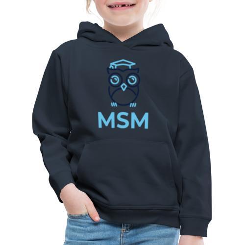 MSM UGLE - Premium hættetrøje til børn
