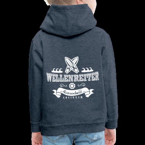 Geweihbaer Wellenreiter - Kinder Premium Hoodie